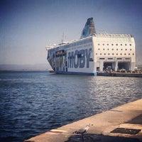 Photo taken at Porto di Piombino by lorendonati a. on 8/8/2012