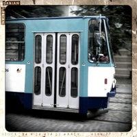 "Photo taken at 7. tramvajs | Ausekļa iela - Tirdzniecības centrs ""Dole"" by Roman A. on 9/12/2012"