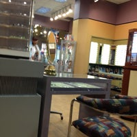 Photo taken at LensCrafters by Isabella G. on 9/8/2012