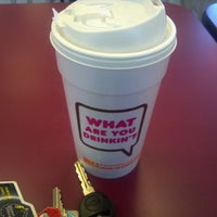 Photo taken at Dunkin' Donuts by Lori M. on 2/26/2012