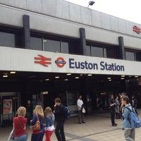 Photo taken at London Euston Railway Station (EUS) by Chris M. on 7/3/2012