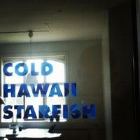 Photo taken at Cold Hawaii Starfish by Rasmus J. on 3/4/2012