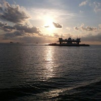 Photo taken at Galveston - Bolivar Ferry by Kasey S. on 4/8/2012