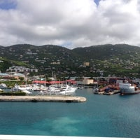 Photo taken at Port Of St. Thomas by Earl Y. on 4/24/2012