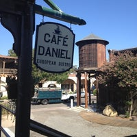 Photo taken at Cafe Daniel by Jean M. on 9/6/2012