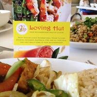 Photo taken at Loving Hut Vegan Cuisine by Barbara C. on 4/1/2012