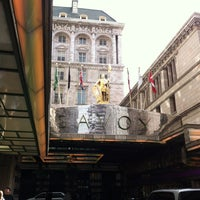 Photo taken at The Savoy Grill by Dean W. on 8/30/2012