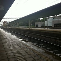 Photo taken at Stazione Novate Milanese by Luigi P. on 6/12/2012