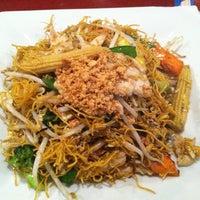 Photo taken at Thai Basil Restaurant by Edward R. on 5/3/2012