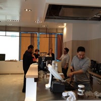 Photo taken at Blu Cafe by John-Paul L. on 3/24/2012