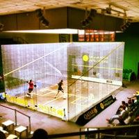 Photo taken at Khalifa International Tennis & Squash Complex by Saoud A. on 7/11/2012
