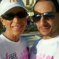 Photo taken at Susan G Komen Race For The Cure by Nathan R. on 3/10/2012
