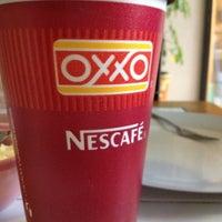 Photo taken at Oxxo Encantada by jorge M. on 3/31/2012