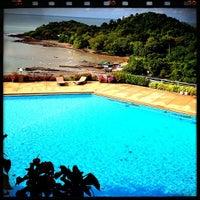 Photo taken at Hinsuay Namsai Resort Rayong by KungTent J. on 5/19/2012