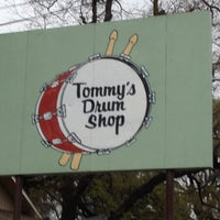 Photo taken at Tommy's Drum Shop by Kevin L. on 3/9/2012