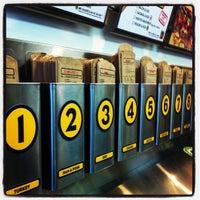 Photo taken at Which Wich Superior Sandwiches by Gavin on 5/17/2012