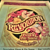 Photo taken at Revolution Pizza And Ale House by Elizabeth E. on 6/9/2012