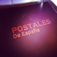 Photo taken at Postales Spanish Restaurant and Tapas Bar by Willy C. on 8/31/2012