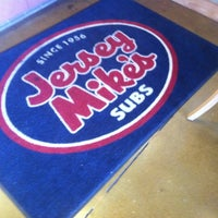 Photo taken at Jersey Mike's Subs by Brian R. on 4/22/2012