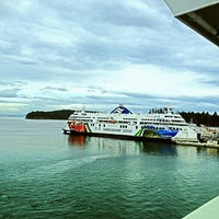 Photo taken at Swartz Bay Ferry Terminal by Angie B. on 4/27/2012