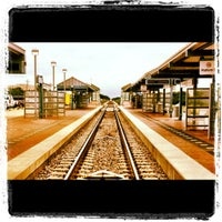 Photo taken at CentrePort / DFW Airport Station (TRE, DART bus, The T) by SQLRockstar on 5/8/2012
