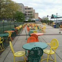 Photo taken at Memorial Union Terrace by Wendy S. on 4/18/2012