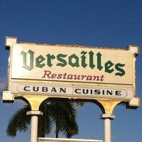 Photo taken at Versailles Restaurant by Vinnie R. on 4/15/2012