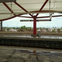 Photo taken at Metrorrey Estación Anáhuac by Edd on 8/13/2012