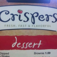 Photo taken at Crispers Fresh Salads, Soups and Sandwiches by Howard M. on 4/26/2012