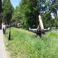 Das Foto wurde bei Rossauer Lände von Robin O. am 5/19/2012 aufgenommen
