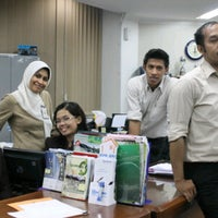 Photo taken at PT. Bank Rakyat Indonesia (Persero) Tbk. by Alek P. on 2/7/2012