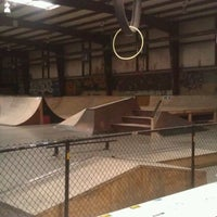 Photo taken at Springfield Skate Park by Kris C. on 2/17/2012