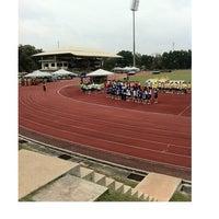 Photo taken at Stadium UKM by Nicke K. on 7/17/2012