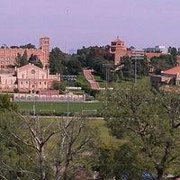 Photo taken at UCLA Covel Commons (Sunset Village) by Jon F. on 3/24/2012