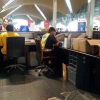 Photo taken at Emirates Checkin Counter by mohd hisham m. on 4/2/2012