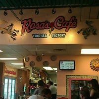 Photo taken at Rosa's Cafe and Tortilla Factory by Jerry F. on 3/29/2012