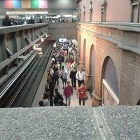 Photo taken at Metro Puente Cal y Canto by Alejandr on 4/3/2012
