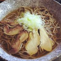 Photo taken at 冷たい肉そば専門店かほく by waiz on 8/23/2012