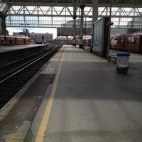Photo taken at Platform 3 by Kevin W. on 4/11/2012