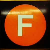 Photo taken at MTA Subway - F Train by Adjua G. on 5/22/2012