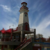 Photo taken at Port Credit Lighthouse by Richard B. on 5/5/2012