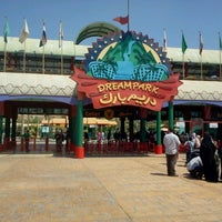 Photo taken at Dream Park by Eslam M. on 9/5/2012