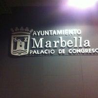 Photo taken at Palacio de Congresos de Marbella by Юрий М. on 8/22/2012
