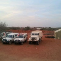 Photo taken at Kenya Red Cross Dadaab base camp by Philip O. on 2/28/2012