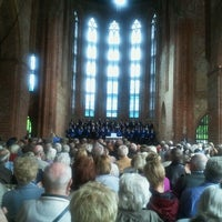 Photo taken at Zisterzienserkloster Chorin by Martin A. on 7/21/2012