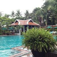 Photo taken at Anantara Bangkok Riverside Spa & Resort by Aad H. on 6/3/2012