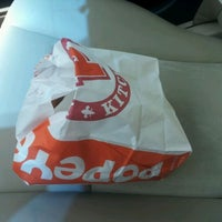 Photo taken at Popeyes Chicken & Biscuits by Charlie on 5/18/2012