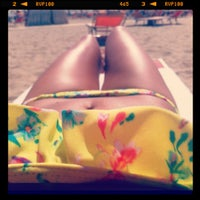 Photo taken at Beach by Yulia T. on 8/30/2012