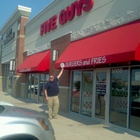Photo taken at Five Guys by Brenton R. on 7/2/2012