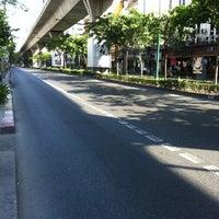Photo taken at Sukhumvit Road by Palmie N. on 5/14/2012